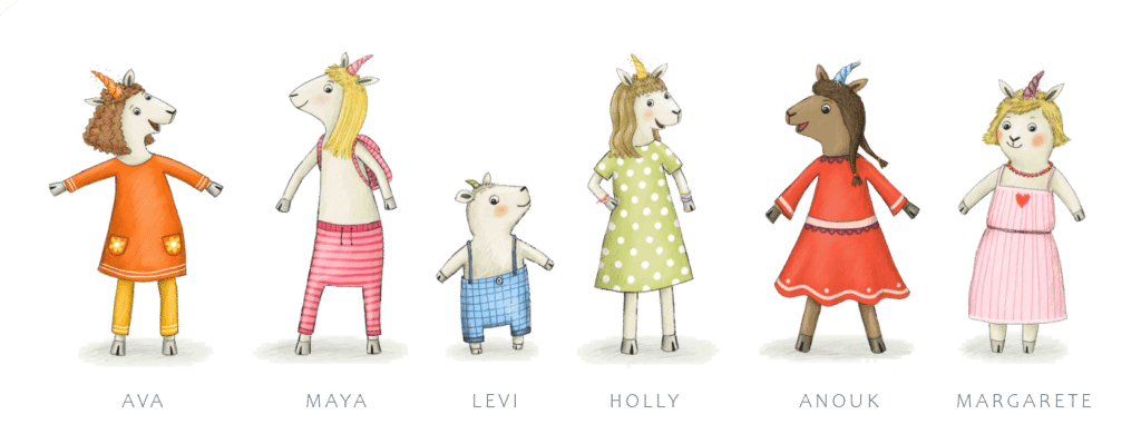 Einhornlämmchen Peckelston Verlag Kinderbücher Kinderbuchverlag