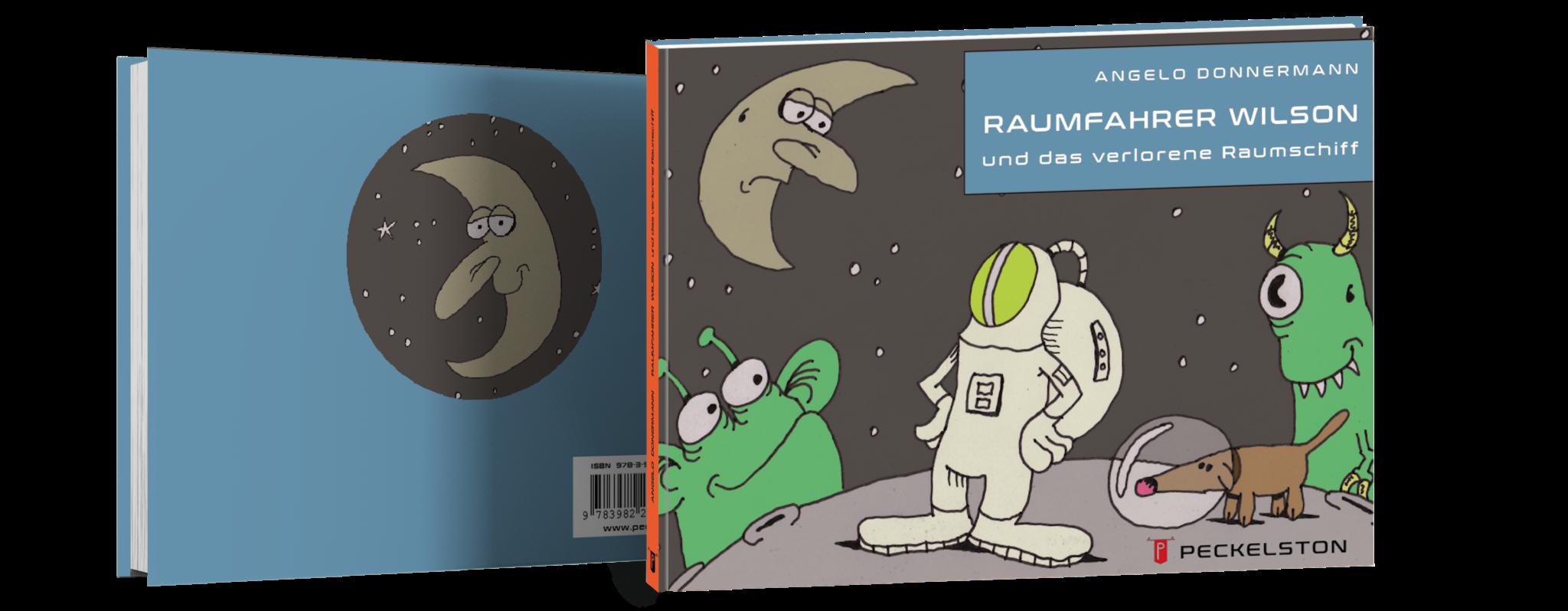 Peckelston Kinderbuchverlag Raumfahrer Wilson Angelo Donnermann