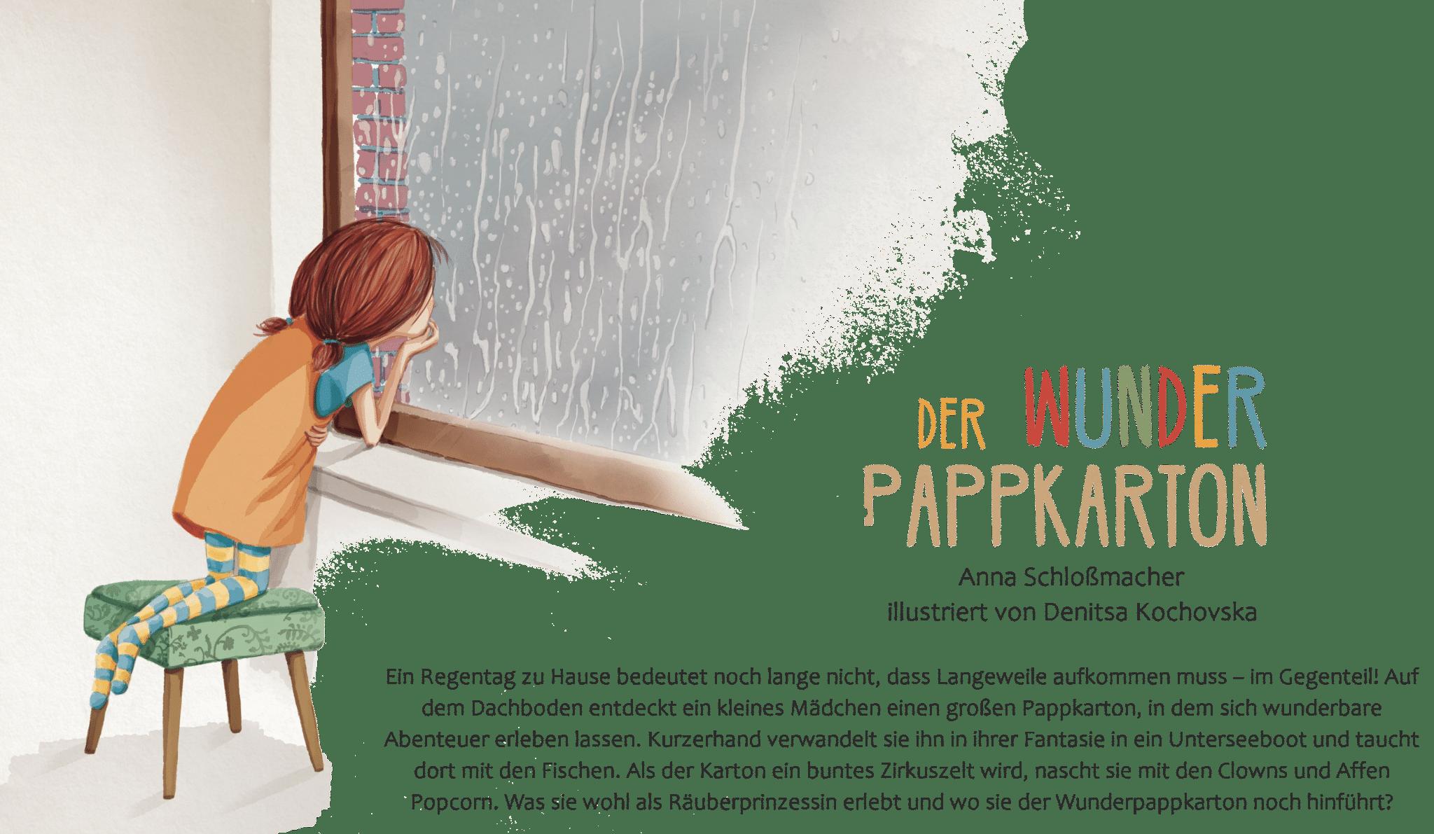 Peckelston Kinderbuchverlag Der wunderpappkarton denitsa kochovska Anna schloßmacher