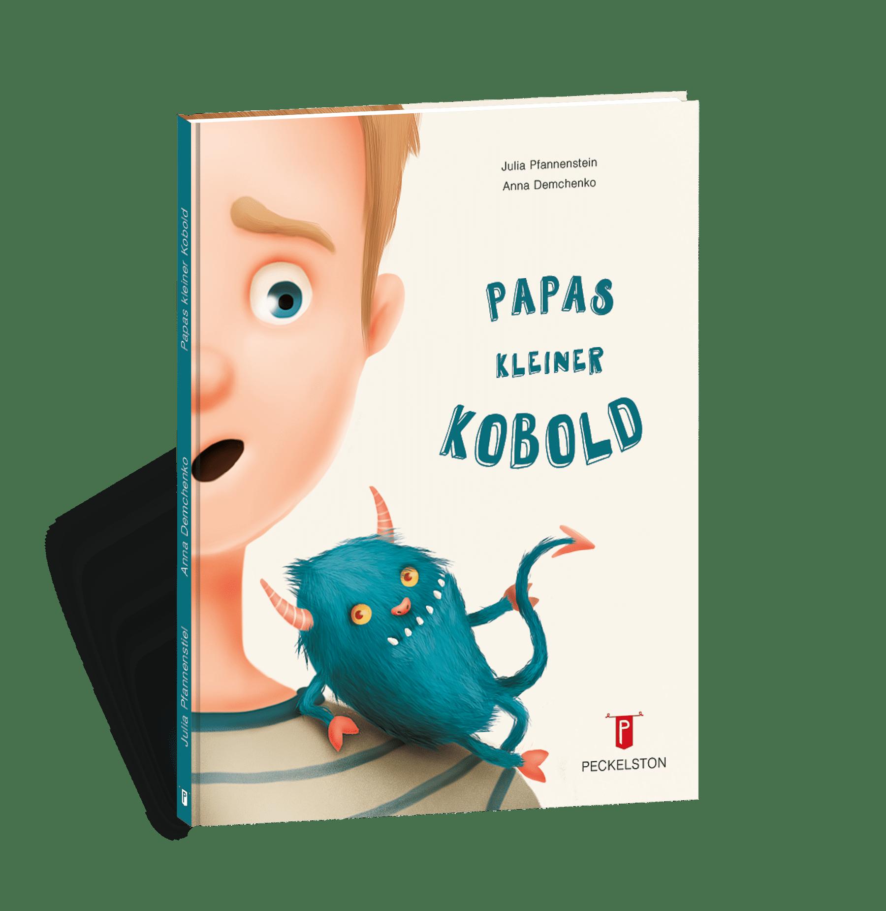 Kinderbuchverlag Einhornlämmchen Peckelston papas kleiner kobold anna demchenko