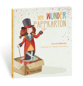 Peckelston Kinderbuchverlag Anna Schloßmacher Denitsa Kochovska Der Wunderpappkarton
